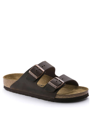 Birkenstock Arizona Oiled Leather in Habana 52531