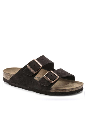 Birkenstock Arizona Suede Leather in Mocha 51901