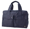 Porter Smoky Boston Bag Navy