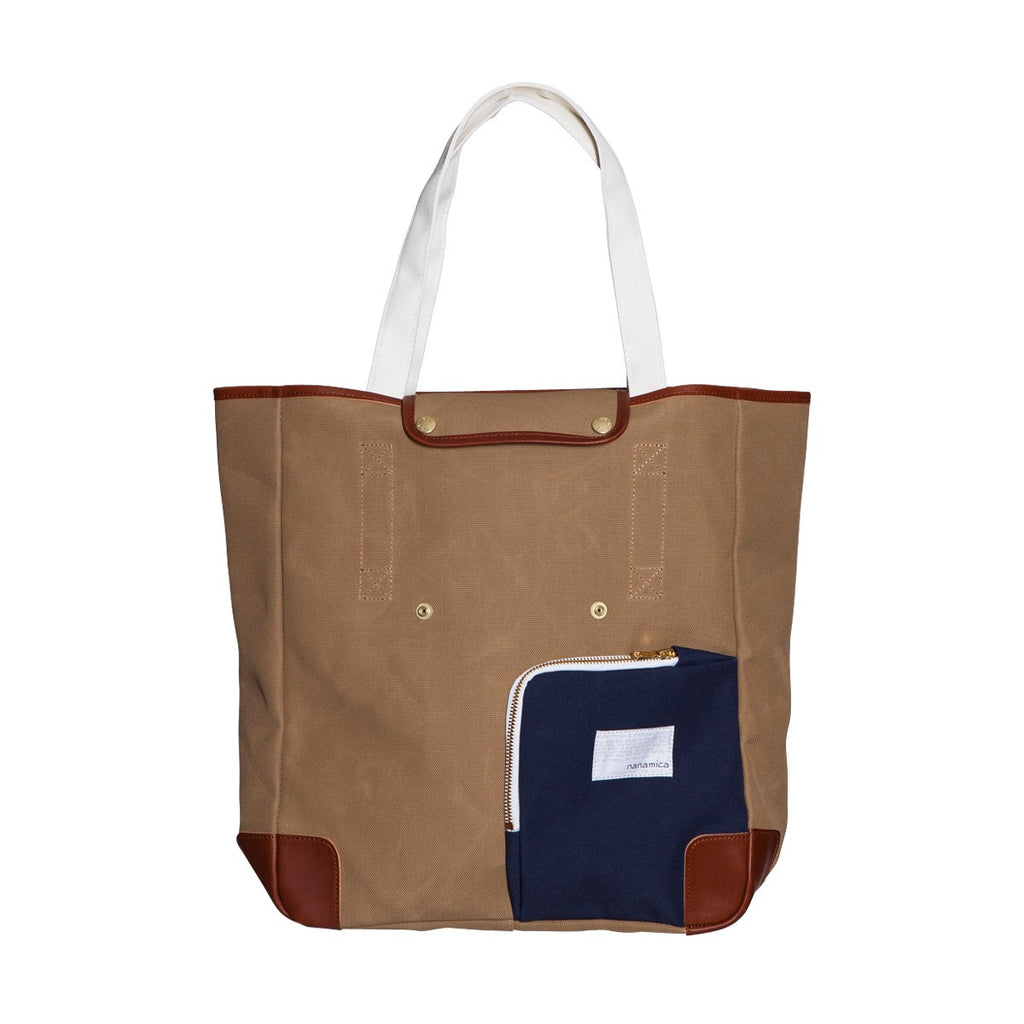 Nanamica Two Way Tote Tan