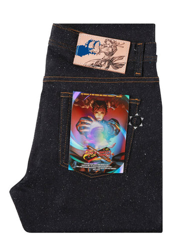 Naked & Famous Super Skinny Guy Chun Li Silk Lightning Leg Denim