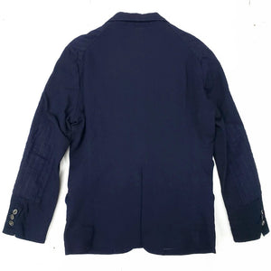 Graph Zero Deep Indigo Sashiko Tailored Jacket