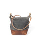 Wood And Faulk Field Bag North Coast Grey