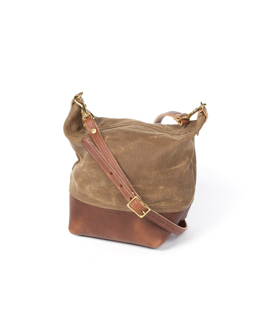 Wood And Faulk Field Bag Cascade Range Tan