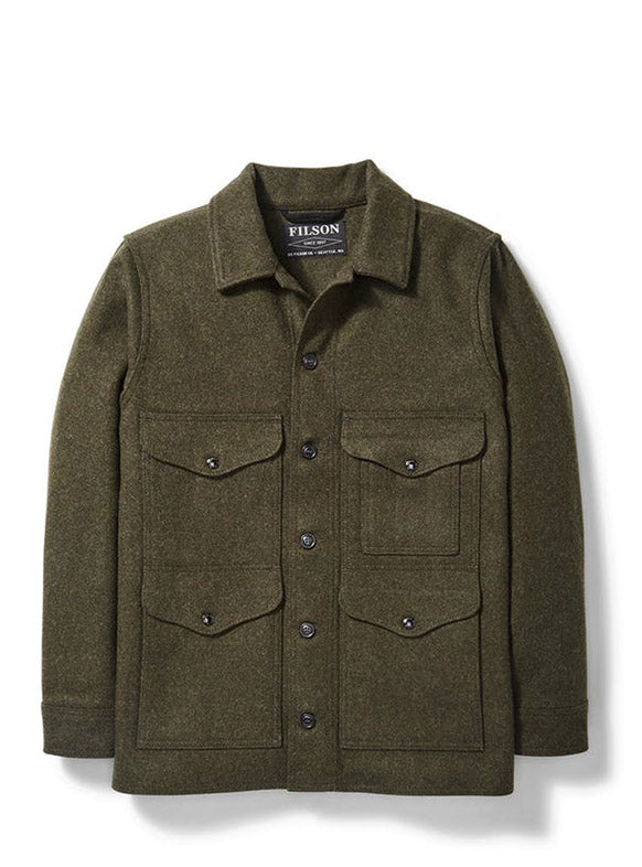 Filson Mackinaw Cruiser in Forest Green