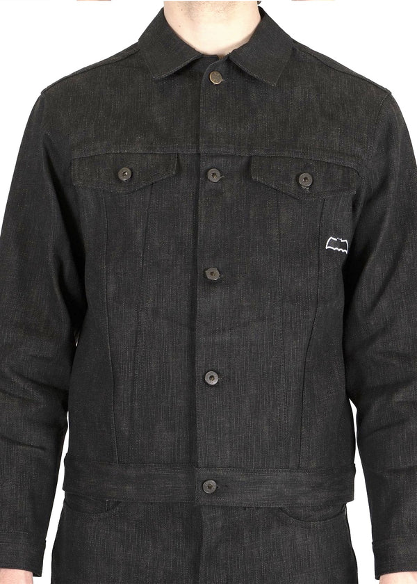 Naked & Famous Denim Batman Jacket Dark knight