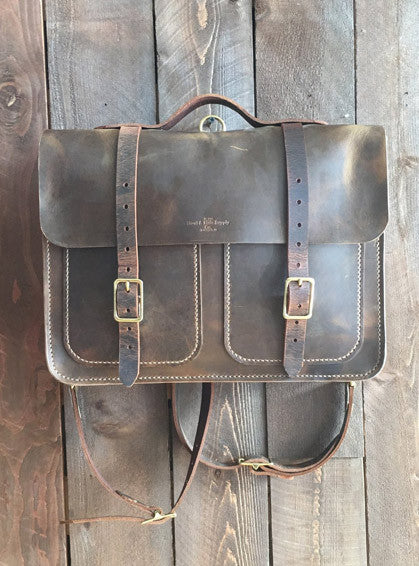 Howl and Hide Forester Bag in Rustic Brown