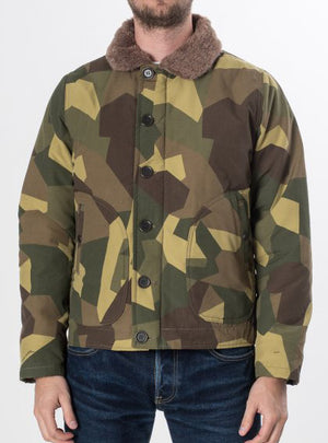 Iron Heart IHM-19 Camouflage Quilted N1 Jacket