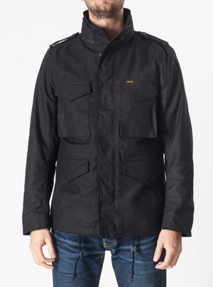 Iron Heart Cotton Sateen Black M65 Jacket