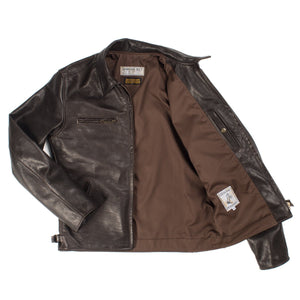 Iron Heart X Simmons Bilt Blattwerk Leather Work Jacket