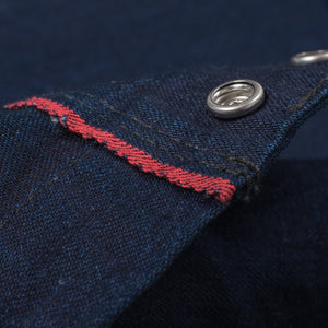 Iron Heart IHSH-159 Indigo/Indigo 10oz Selvedge Shirt