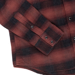Iron Heart IHSH-195 Red Flannel Shirt