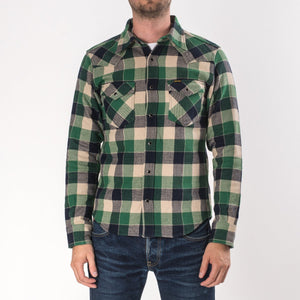 Iron Heart IH-203-GRN Ultra Heavy Green Check
