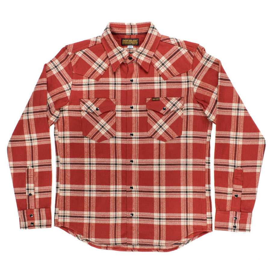 Iron Heart IH-205 Ultra Heavy Vintage Check Shirt