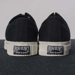 Iron Heart 21oz Superblack Sneakers