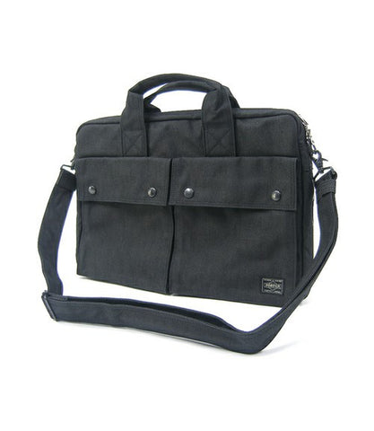 Porter Smoky 2 Way Briefcase Black