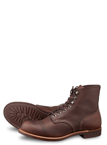 Red Wing Iron Ranger 8111 Amber Hrness