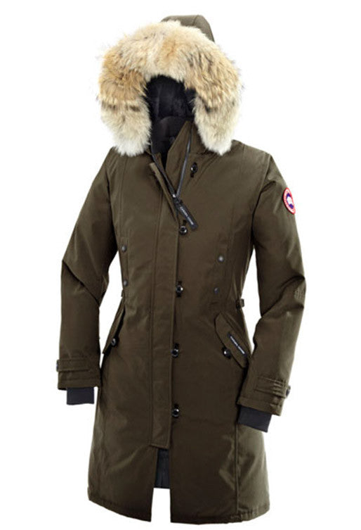 Canada Goose Kensington Parka in Military Green