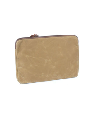 Wood and Faulk Atlas Laptop Sleeve 15 inch High Desert Sage