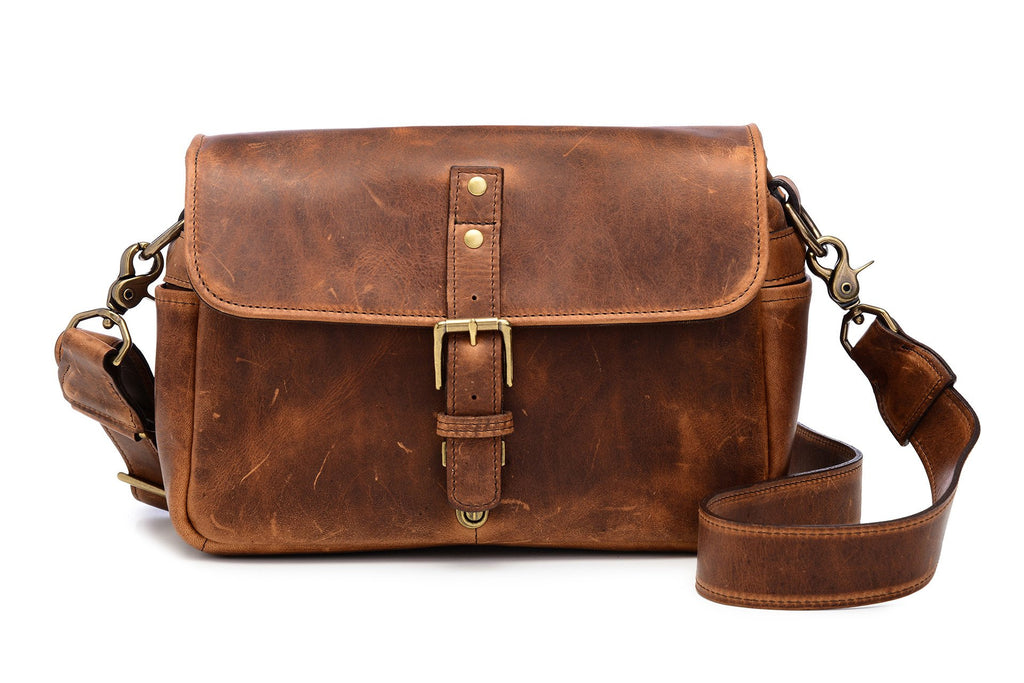 Ona The Leather Bowery in Antique Cognac