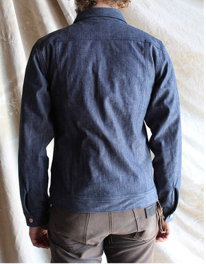 Mercy Supply Indigo Duck Canvas Jacket