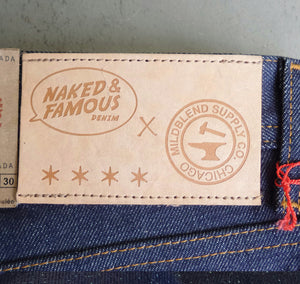 Mildblend Supply X Naked and Famous WeirdGuy Left Hand Twill