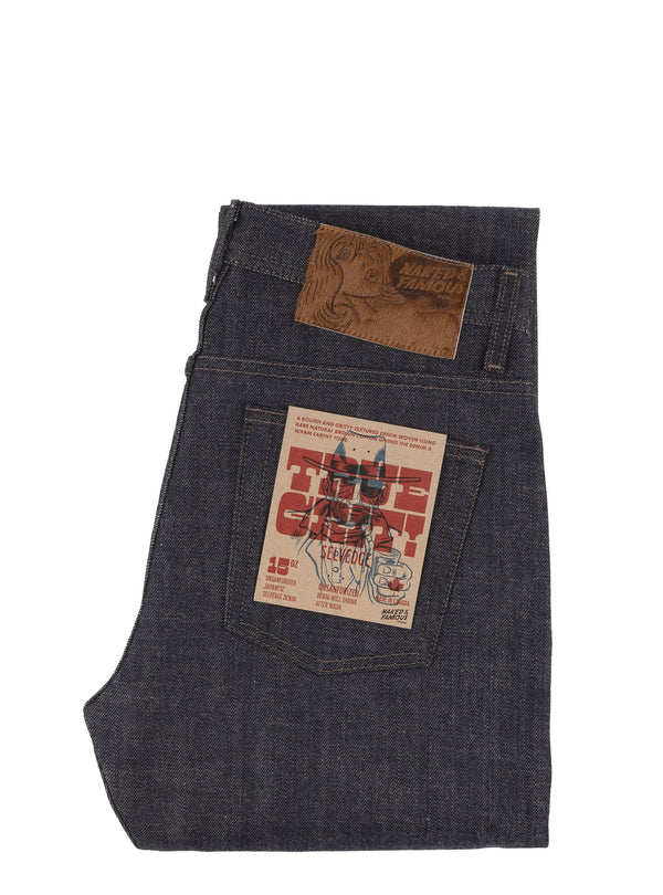 Naked & Famous Weirdguy True Grit Selvedge