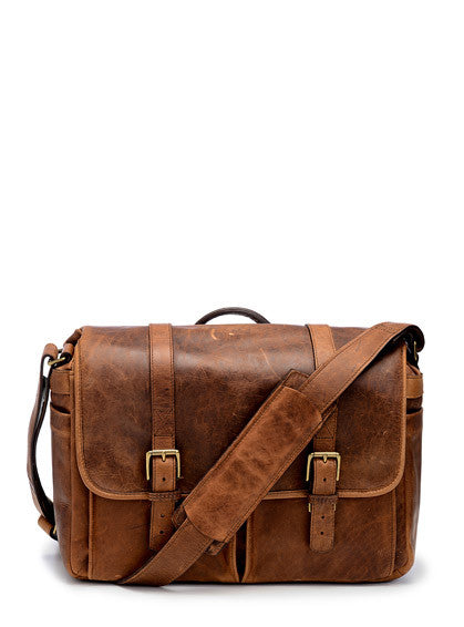 Ona The Brixton Bag in Antique Cognac