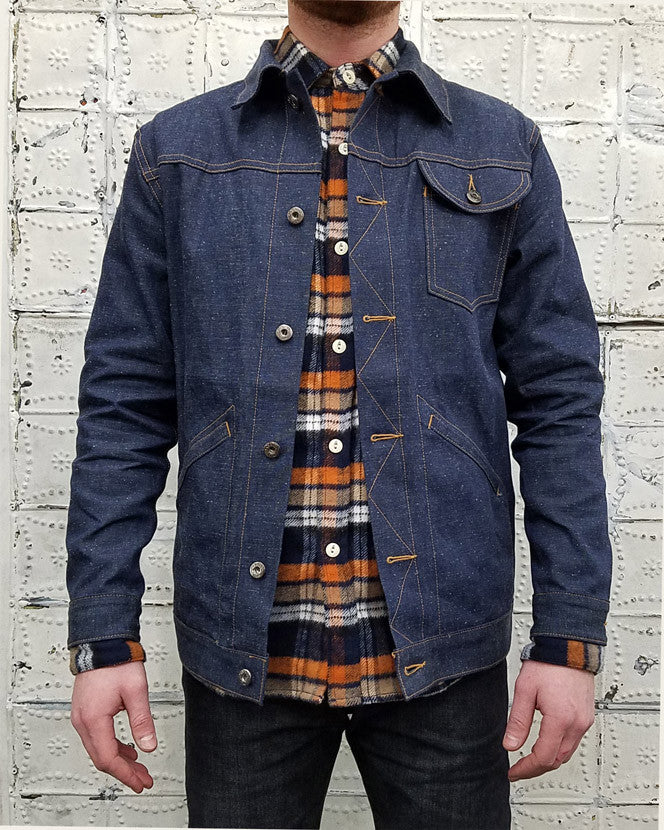 3sixteen Rancher Jacket in Indigo Nep
