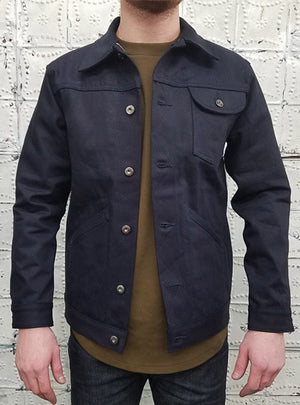 3sixteen Rancher Jacket in Shadow Selvedge