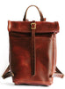 Loyal Stricklin Ruck Sack in Rich Tan