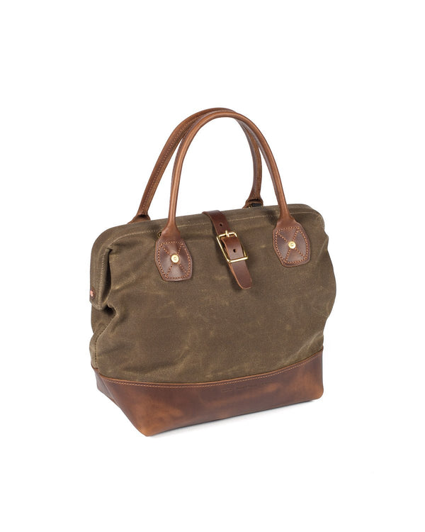 Wood and Faulk Sidecar Everyday Bag Cascade Range Tan