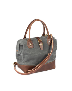 Wood and Faulk Sidecar Everyday Bag North Coast Grey
