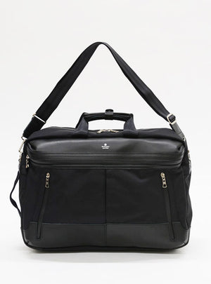 Master-Piece Stream 3-Way Briefcase in Black