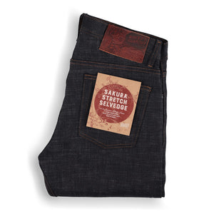 Naked and Famous Sakura Stretch Selvedge