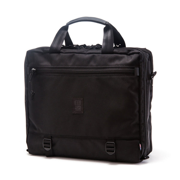 Topo Designs 3-Day Briefcase Ballistic Black