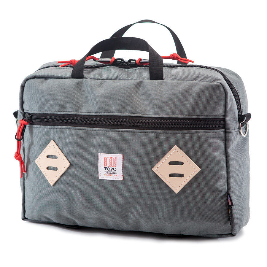 Topo Designs Mountain Briefcase Silver