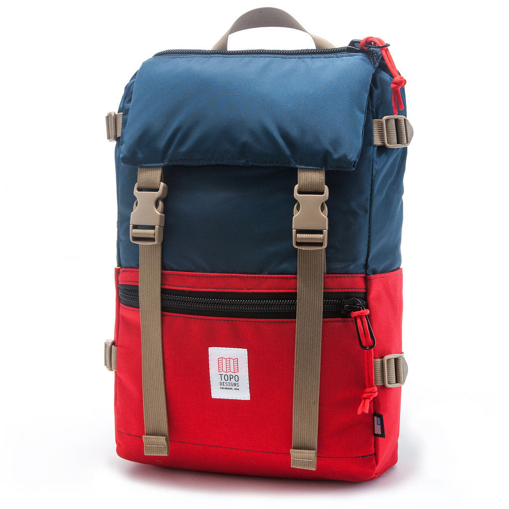 Topo Designs Rover Pack Navy/Red