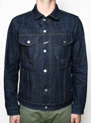 Rogue Territory Type III Jacket in Neppy Denim