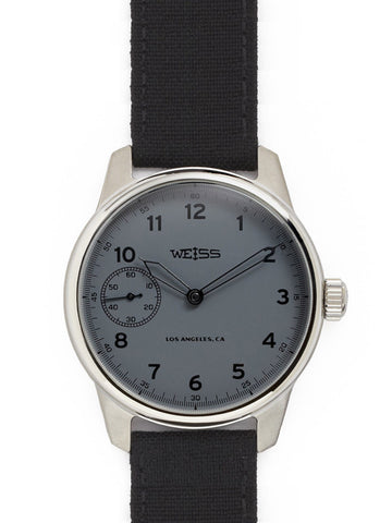 Weiss Special Issue Field Watch Carbon Dial