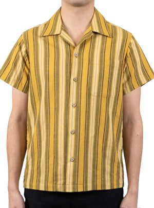 Naked & Famous Aloha Sahara Stripe in Yellow