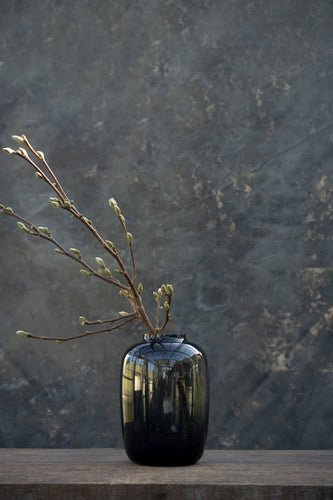 Holy smoke - Handmade glass vase for bouquets between 45 and 100 euros