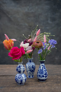 Delft Trio vase set - delightfully different!