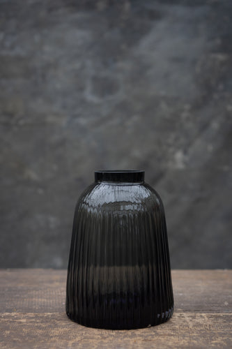 Smokey ribs - Handmade glass vase for bouquets between 25 and 65 euros