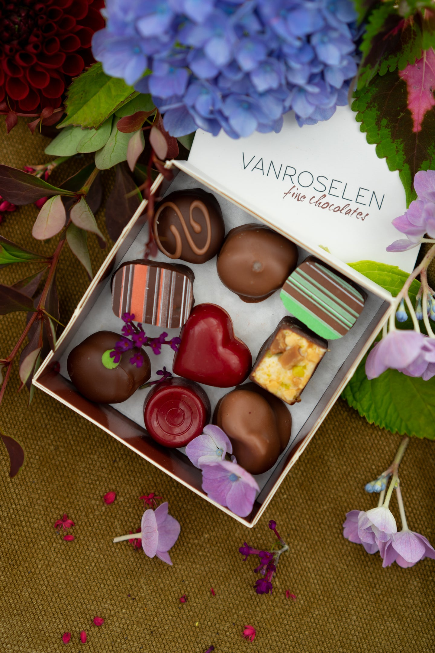 Handmade local chocolate bonbons (small) - deliver sweetness!