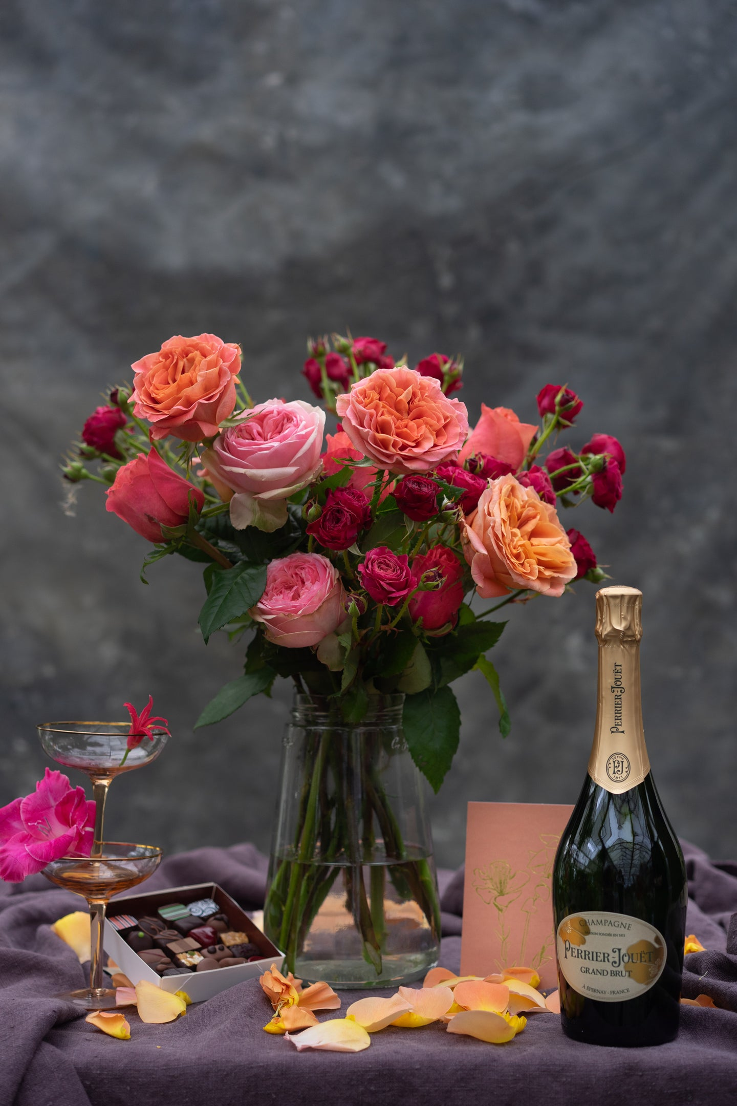 Rosie Posie Champagne Days - celebrate each and every day!