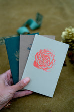 Load image into Gallery viewer, Set of 3 Botanical Notebooks  - gift set with pencil