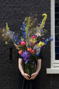 'Feature bouquet in vase' The Bold & the Beautiful  - next day delivery!