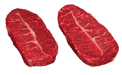 Angus Grass Fed Beef - Flat Iron Steak  $21 lb but coming in bigger than a pound