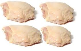 Chicken Thighs - Bone-In, Pastured $8.75 lbs Packages bigger than a lb that's why price is higher